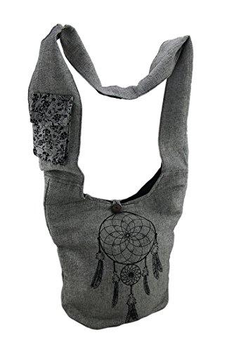 gris pour sac Zeckos gris à femmes bandoulière q8XFIa