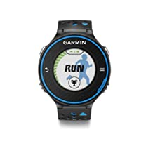 Garmin Forerunner 620 GPS Running Watch - Black/Blue Bundle (Discontinued by Manufacturer)