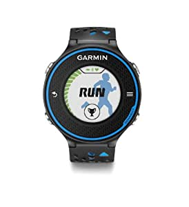 Garmin Forerunner 620 - Black/Blue Bundle (Includes Heart Rate Monitor)