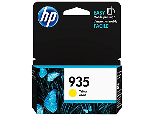 HP 935 Yellow Original Ink Cartridge (C2P22AN) for HP Officejet 6812 6815 HP Officejet Pro 6230 6830 6835 by HP