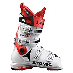 The 130-flex Atomic Hawx 130 Ski Boot is an all-mountain monster of a boot. Its revolutionary, progressive shell makes it the most lightweight of the Atomic line-up for agile feet resulting in amazing snow feel and power. This is achieved by ...