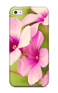 New Arrival Case Specially Design For Iphone 5c (pretty Purple Verbena )
