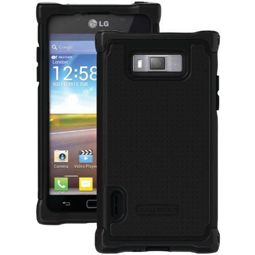 Ballistic SG0924-M005Splendor SG Case for  LG Optimus L7 - 1 Pack - Retail Packaging - Black