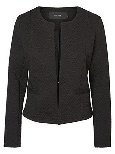 Black Noos Women's Vmmia Moda Jacket Vero Structure Short Blazer Suit qFvzf