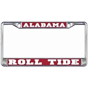 Amazon.com: University of Alabama Roll Tide License Plate Frame ...