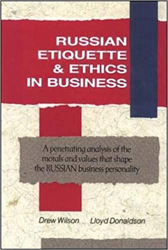 Book cover for Russian Etiquette and Ethics in Business