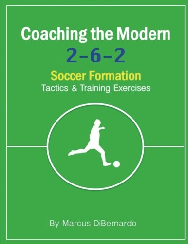 Coaching The Modern 2-6-2 Soccer Formation: Tactics & Training Exercises -