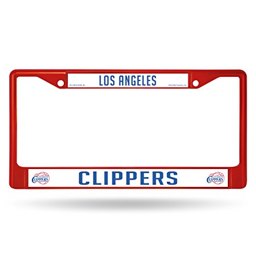Rico Industries NBA Los Angeles Clippers License Plate Frame, One Size, Team Color