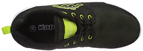 Low Footwear Unisex Speed II Trainers Lime Top Black Unisex Kappa Adults Black 1133 dwEIqx