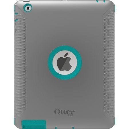 (OtterBox Defender Series Case with Screen Protector and Stand for iPad 4th Generation, iPad 2 and 3 - Harbor-Teal /)