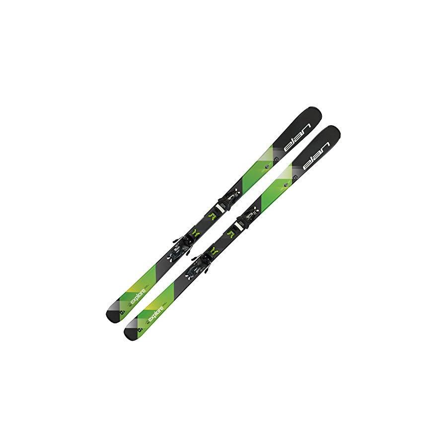2018 Elan Explorer 6 Green Light Shift Skis w/ EL 9.0 Bindings