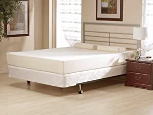 4 inch memory foam mattress made in the usa short queen kitchen dining. Black Bedroom Furniture Sets. Home Design Ideas