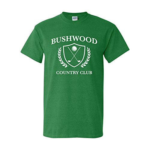 UGP Campus Apparel Bushwood Country Club - Funny Golf Caddy Golfing T Shirt - 2X-Large - Antique Irish ()