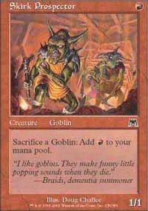 Magic: the Gathering - Skirk Prospector - Onslaught - Foil