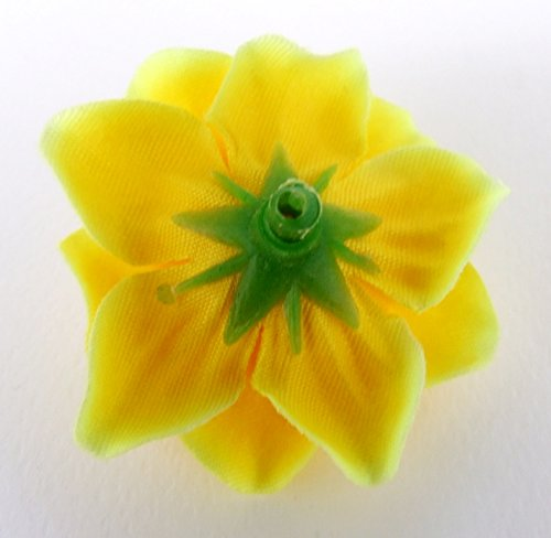 50-Silk-Yellow-Roses-Flower-Head-175-Artificial-Flowers-Heads-Fabric-Floral-Supplies-Wholesale-Lot-for-Wedding-Flowers-Accessories-Make-Bridal-Hair-Clips-Headbands-Dress