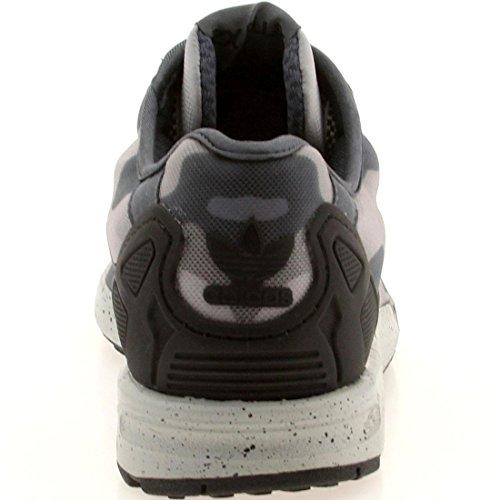 Adidas Zx Flux Weave Mens Scarpe Da Corsa Grigio / Nero