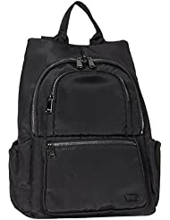 Lug Womens Hatchback Mini Backpack, Brushed Black, One Size