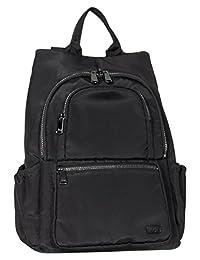 Lug Hatchback Mini Backpack, Brushed Black, One Size (Model:4932)