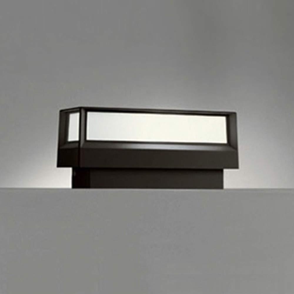 ODELIC(オーデリック) 【工事必要】 LEDエクステリアライト 門柱灯【明暗センサ】 黒色:OG042176LD B008U4DU82