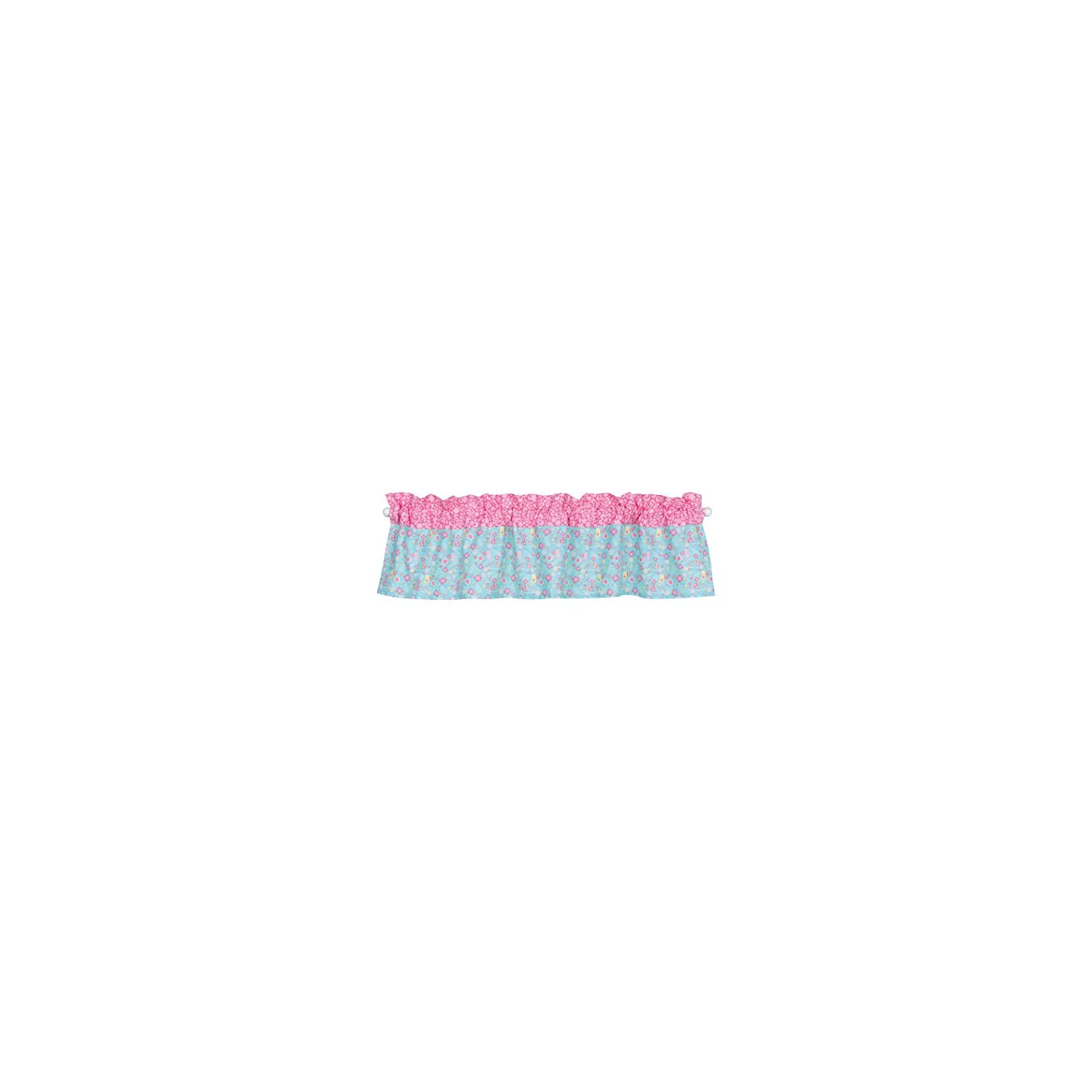 Trend Lab Tropical Tweets Window Valance, Pink