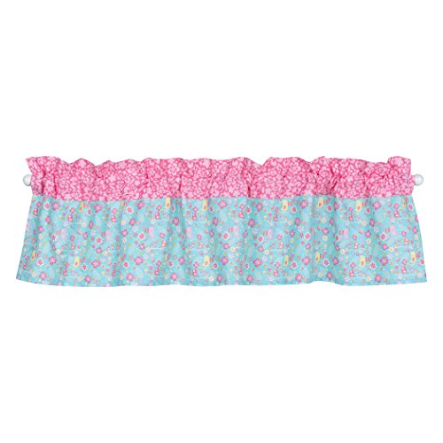 Trend Lab Tropical Tweets Window Valance, (Baby Butterfly Window Valance)