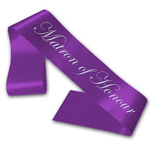 Fancy Pants Store Matron of Honour Sash - Purple