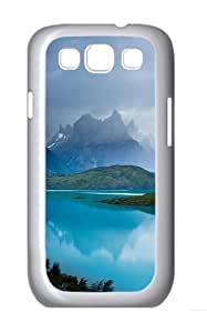 Mountain View Custom Hard Back Case Samsung Galaxy S3 SIII I9300 Case Cover - Polycarbonate - White