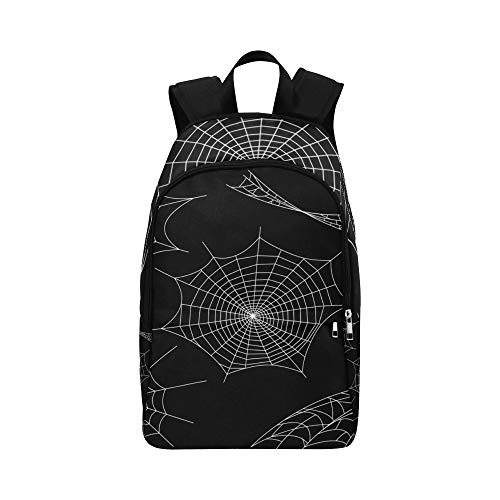 Black Spiders and Broken Webs Casual Daypack Travel Bag College School Backpack for Mens and Women -