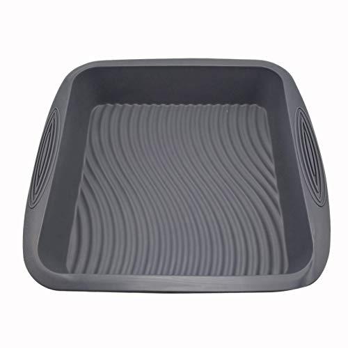 Square Food Grade 3D Silicone Baking Cake Mold DIY Baking Cake Pan Form Bakware Mould Maker Tray Dish Demoulding Bakeware Tools