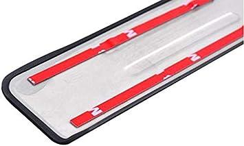 Exterieur T/ürschwellerschutz Original Zierleisten Abdeckung Pedal Schutz Aufkleber Einfache Montage,Black QINMH 4 St/ücke Auto Einstiegsleisten Edelstahl F/ür Nissan X-Trail T32 2014-2019