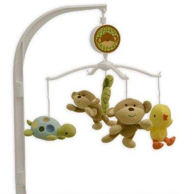 UPC 022266093367, Triboro 21841L Just Born Musical Mobile - Monkey Business