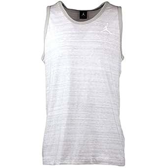 Nike Men's Jordan Dyed Tank White/Grey 644741-076 White/Grey (SIZE: XL)