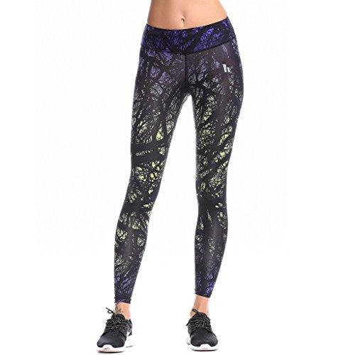 MINIBEAR Women's Yoga Pants, Workout Leggings,Hip Slimming Pants S/M/L/XL