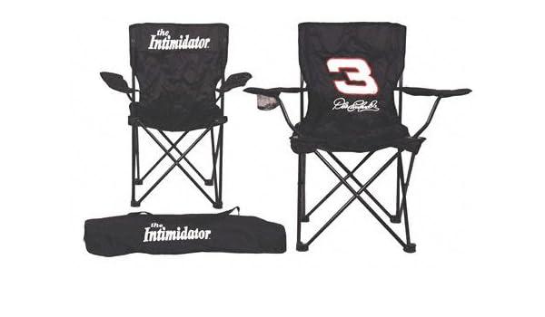 amazon com dale earnhardt sr tailgate nascar chair folding