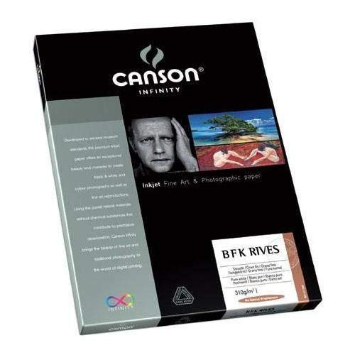 CANSON 310g Infinity BFK Rives Art Paper, 8.5 x 11'', 25 Sheets by Canson Inc. by Canson Inc.