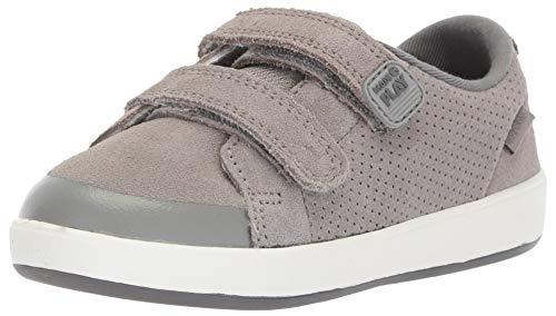 Stride Rite Boys' M2P Jude Sneaker, Grey, 4.5 W US Toddler
