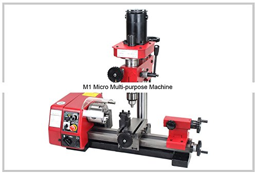 M1 Micro Multi-purpose Machine/SIEG 250MM-150W Cutting&drilling&milling lathe/SIEG M1 Machine by MUCHENTEC