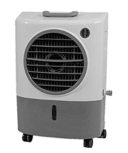 (Hessaire Products MC18M Mobile Evaporative Cooler, 1,300 Cfm, Gray)