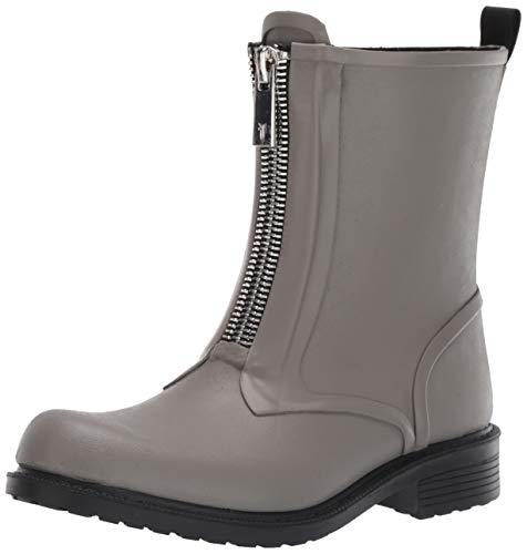 FRYE Women's Storm Zip RAIN Bootie Boot, Grey 9 M US