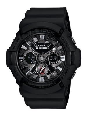 G-Shock GA201-1A BIG COMBI W/ METAL