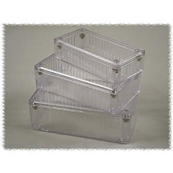 Enclosures, Boxes, & Cases 5.9 x 3.2 x 1.8 Clear