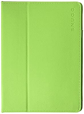 Leather Snugg iPad Case with Lifetime Guarantee Flip Stand Cover with Protective Premium Nubuck Fibre Interior for the Apple iPad