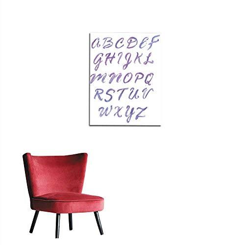 italian alphabet poster - 5