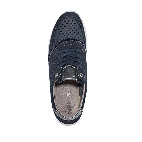 Jenny - Zapatos de cordones para mujer azul ozean/indigo/blau/titan Weite G ozean/indigo/blau/titan Weite G