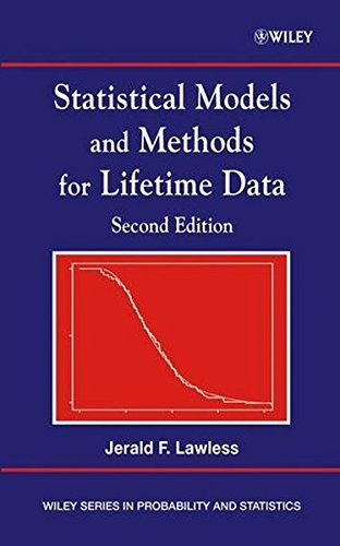 Statistical Models and Methods for Lifetime Data by Jerald F. Lawless (2002-11-27)