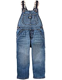 Baby Girls' Denim Overalls