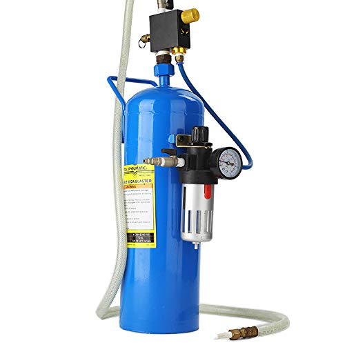 (TOPENS Soda Blaster 40LB Soda Sand Blaster, Portable Air Abrasive Media Blaster)