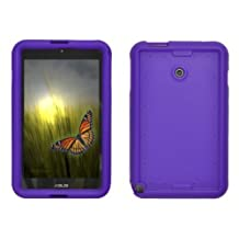 Bobj Rugged Case for ASUS VivoTab Note 8 M80TA - BobjGear Protective Tablet Cover - (Playful Purple)