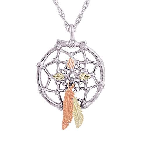 Mt.Rushmore Dreamcatcher Black Hills Silver Necklace