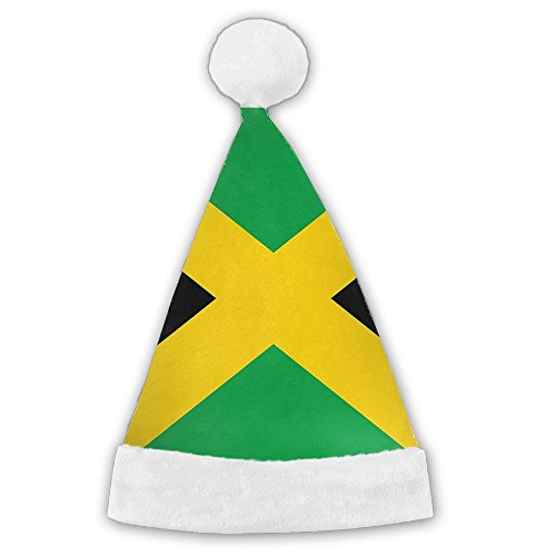 Traditional Irish Costumes (Seasonlogo Flag Of Jamaica Traditional Plush Christmas Santa Hat Costume Holiday Hats For Dinner Table Cutlery Holders)